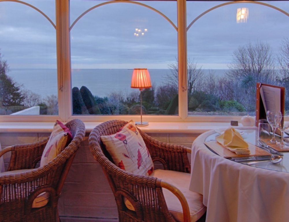 Conservatory in the Grand View Restaurant