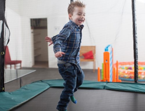 Indoor Trampoline Fun