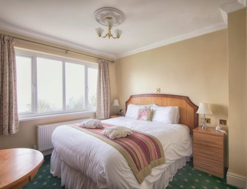 Luccombe Hall Superior Sea-Facing Double Room