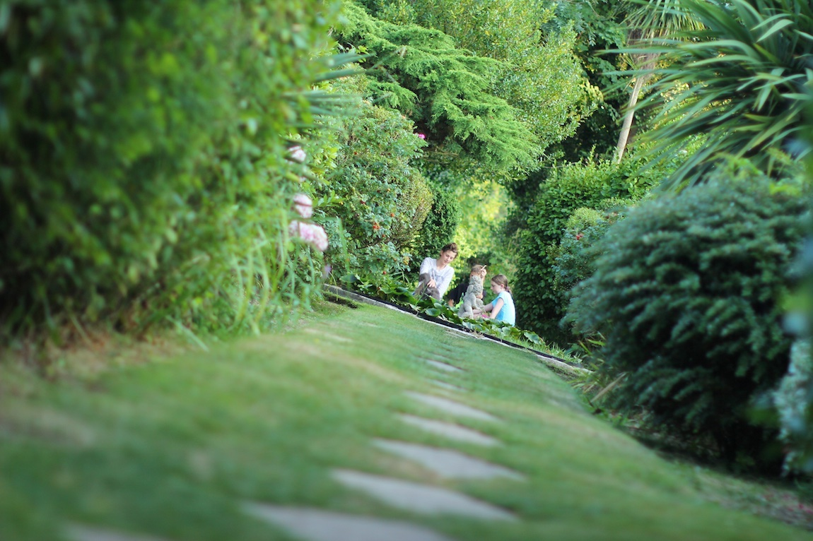 Stunning Gardens, Luccombe Hall Hotel, Isle of Wight