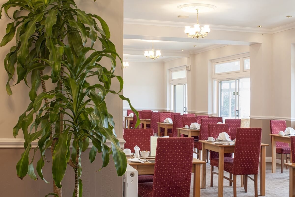 Grand View Restaurant, Luccombe Hall Hotel, Isle of Wight