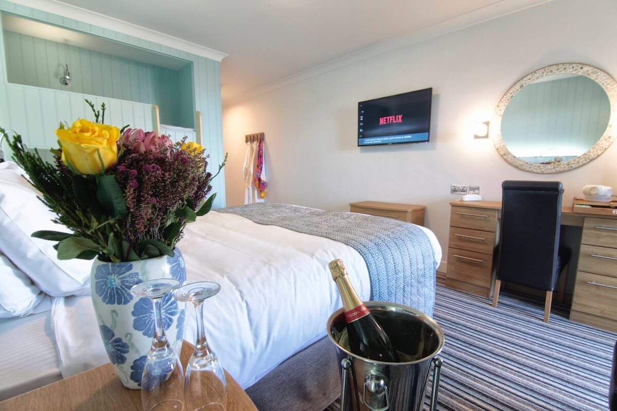 Romance Package at Luccombe Hall Hotel