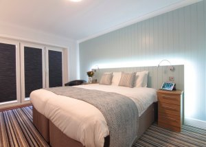 Superior Sea-Facing Bedrooms with Tri-Fold Doors