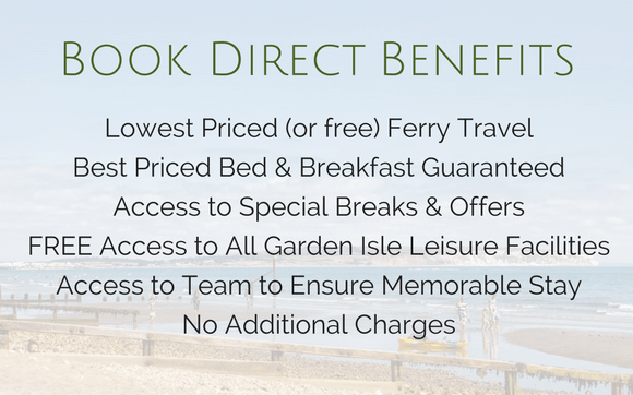 Book Direct Benefits Luccombe Hall Hotel