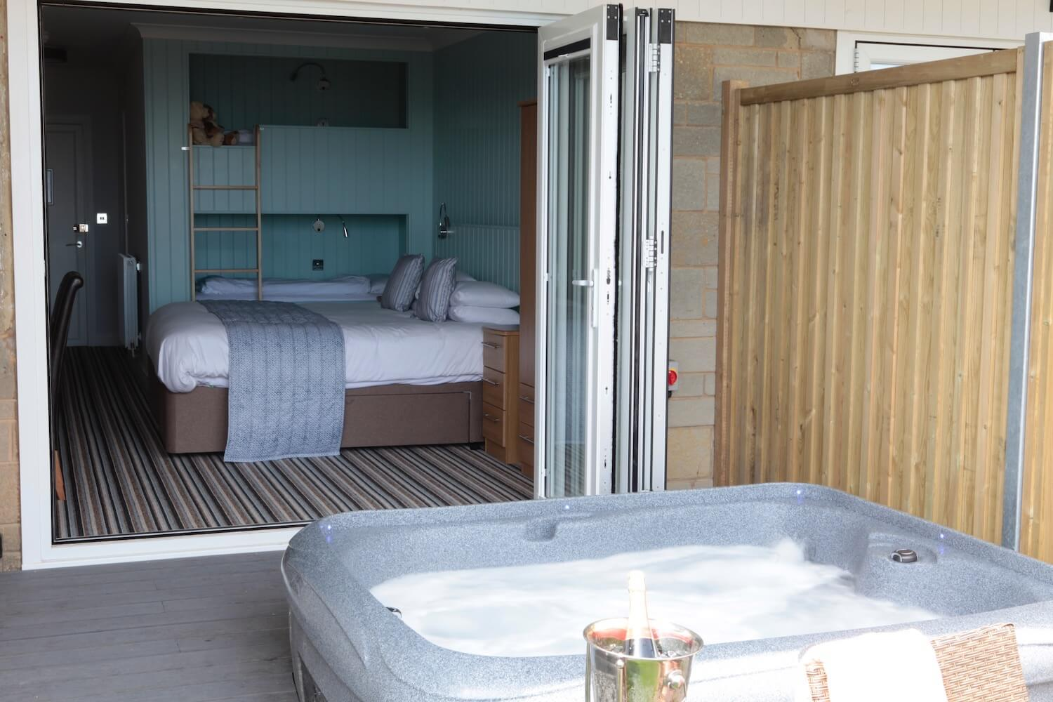 Superior Garden Room with Private Garden, Patio, Hot Tub, Luccombe Hall Hotel, Shanklin, Isle of Wght.jpg