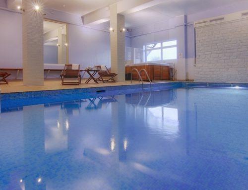Indoor Pool & Loungers