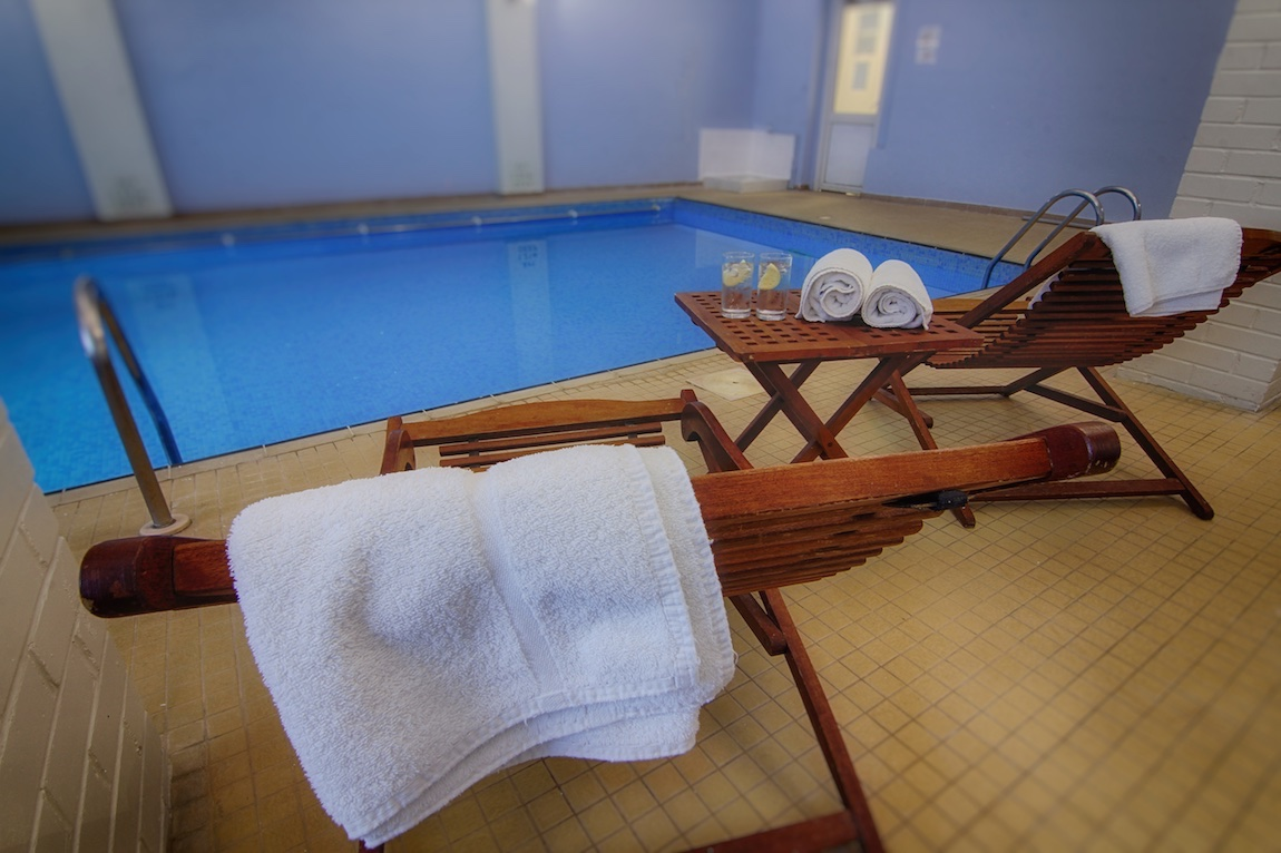Indoor Pool, Luccombe Hall Hotel, Isle of Wight