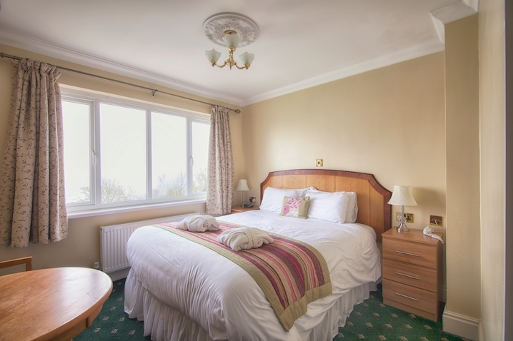 Sea-Facing Double Room at Luccombe Hall Hotel, Shanklin, Isle of Wight