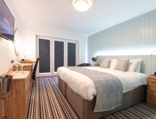 40 Smart TVs in the Superior Sea-Facing Rooms at Luccombe Hall Hotel