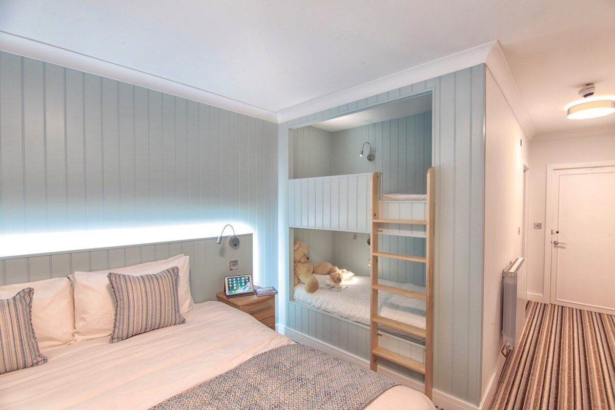 Full Size Bunk Beds in the Superior Sea-Facing Rooms