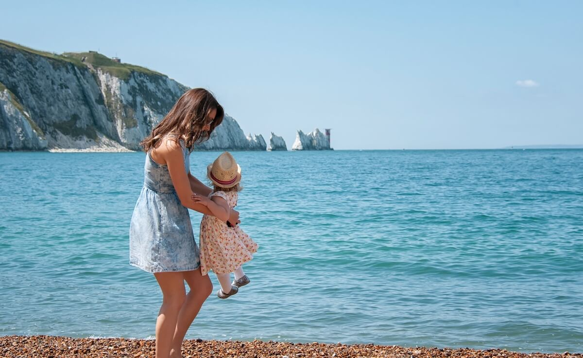 The Needles Landmark Attraction Beach, Isle of Wight
