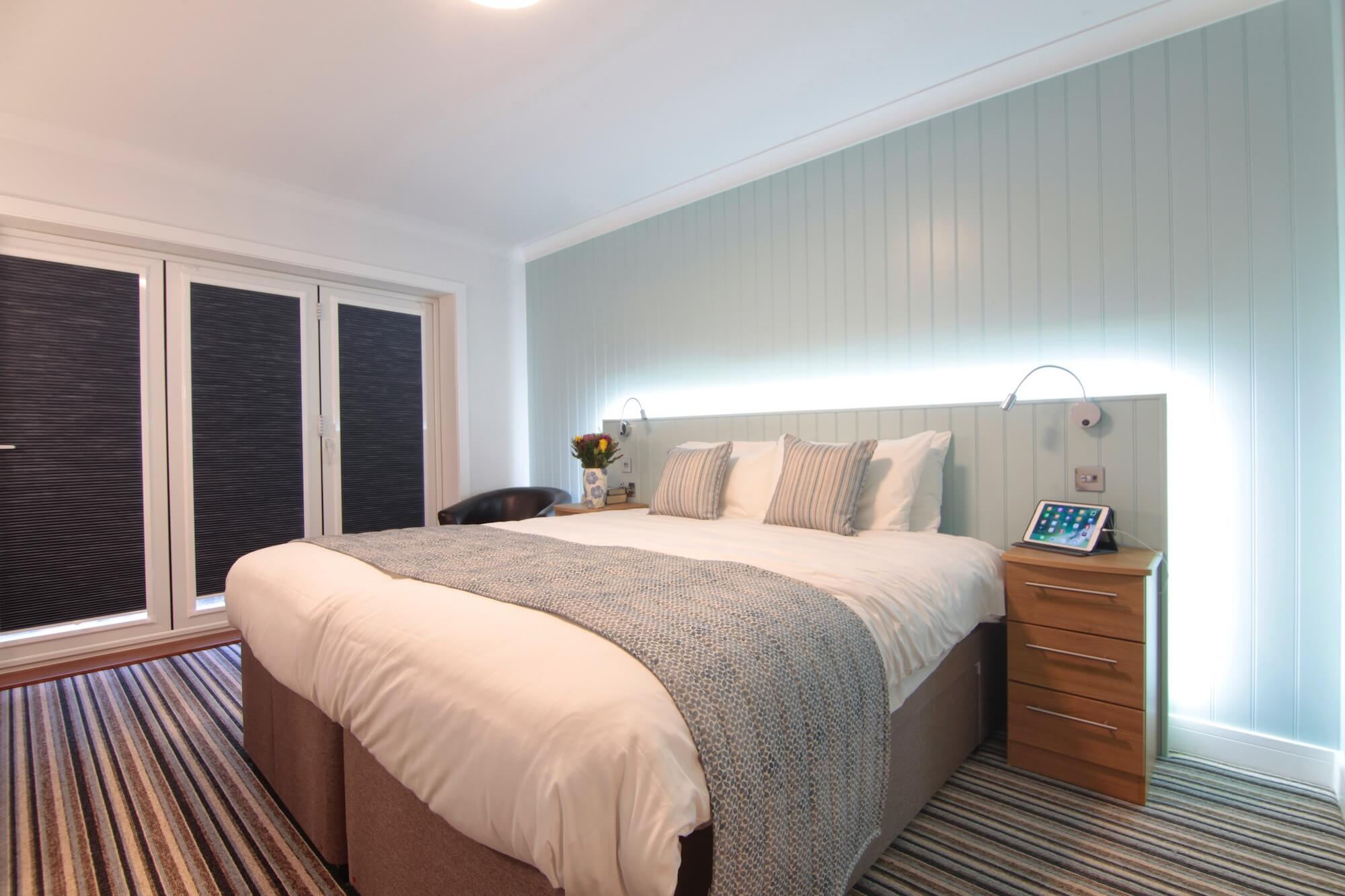 Luccombe Hall Luxury and Contemporary Hotel Accommodation, Isle of Wight