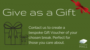 Give As a Gift this Christmas, Luccombe Hall, Isle of Wight
