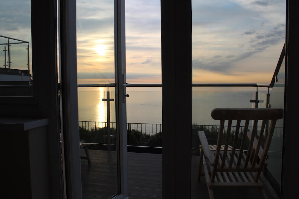 Rm2, Executive Suite, Sea Views, Luccombe Hall Hotel, Isle of Wight 3