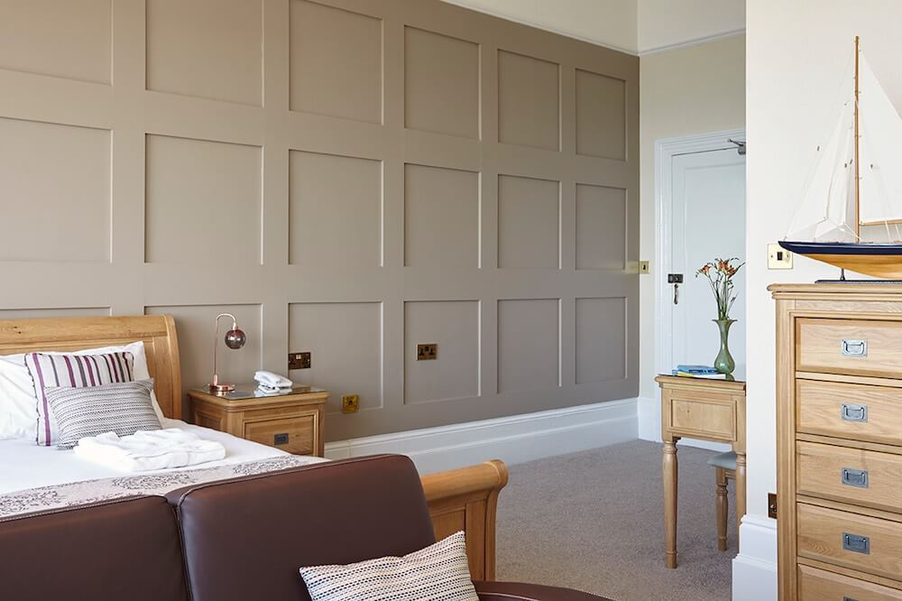 Executive Suite, Room 2, Luccombe Hall Hotel, Isle of Wight
